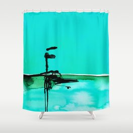 Introspection No. 20F by Kathy Morton Stanion Shower Curtain