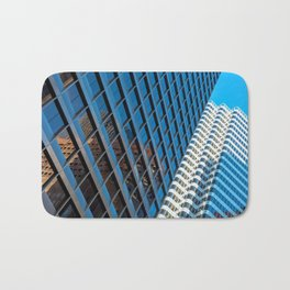 city structures Bath Mat