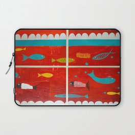 In the clouds Laptop Sleeve