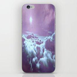 Mystic Clouds Lavender Aqua iPhone Skin
