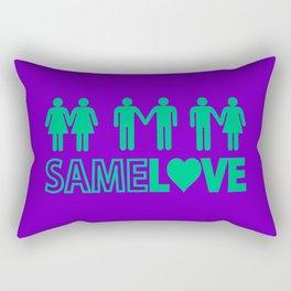 Same Love Rectangular Pillow
