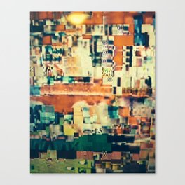 Abstract Number 1 Canvas Print