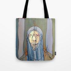 Daniel Rocket Moon Tote Bag