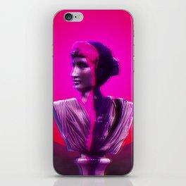 Vaporwave Glow iPhone Skin
