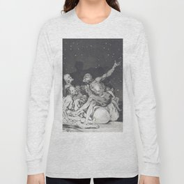When the day comes, we are gone - Francisco de Goya (1797) Long Sleeve T-shirt