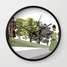 EL PASEO DOMINGUERO (THE SUNDAY STROLL) Wall Clock