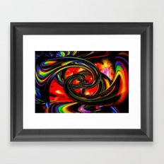 Wrong Way Framed Art Print