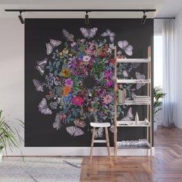 Butterfly Garden Wall Mural
