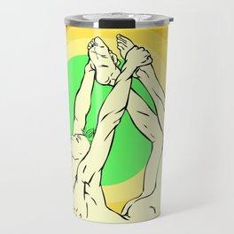 Yoga: asana Travel Mug