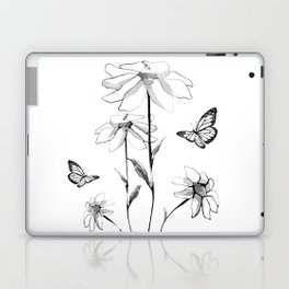 Flowers and butterflies 2 Laptop & iPad Skin