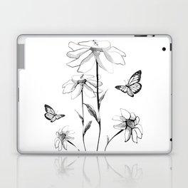 Flowers and butterflies 2 Laptop & iPad Skin