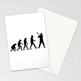 Baseball Evolution Stationery Cards