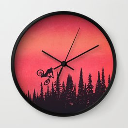 Whip Colors Wall Clock