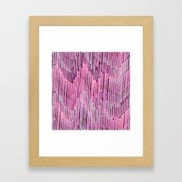 Pink Madness Framed Art Print