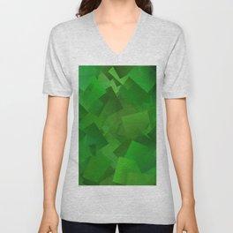 Cubed grass ... Unisex V-Neck