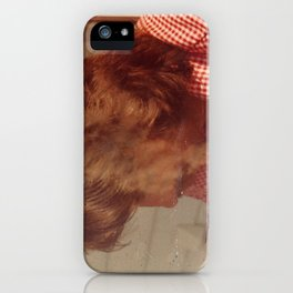 The Smoking Man iPhone Case
