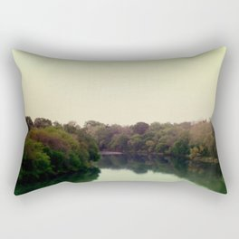 river Rectangular Pillow