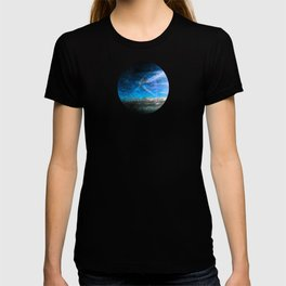 Frosty Window Above Clouds T-shirt