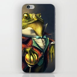 Country Club Collection #6: A Time Piece Fit For A Toad iPhone Skin