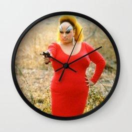 Assholism Wall Clock