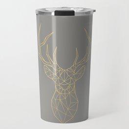 Geometric Deer Travel Mug