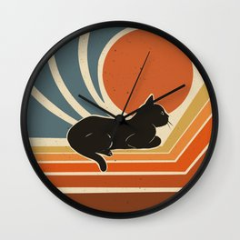 Evening time Wall Clock