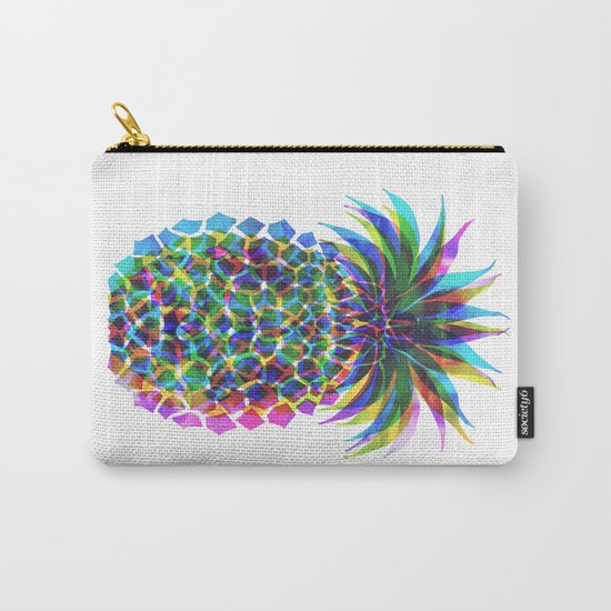 Pineapple CMYK Carry-All Pouch