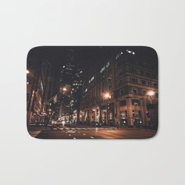 Night Life Bath Mat