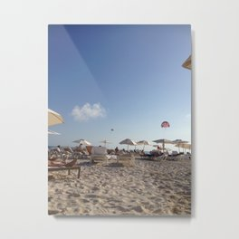 perfect beach Metal Print