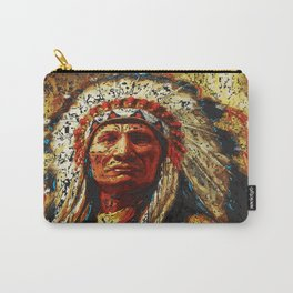 weathered chief Carry-All Pouch
