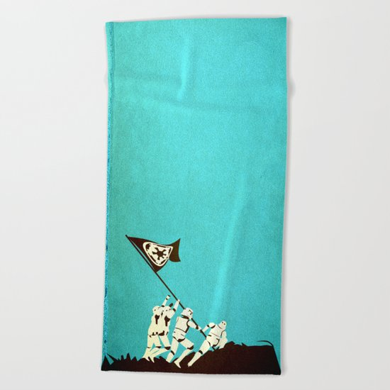 Fight for the Empire Beach Towel