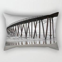 Bridge of water and sand Rectangular Pillow