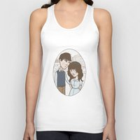 500 days of summer Tank Tops featuring 500 days of summer portrait. by Nic Lawson