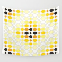 Stone Wall (Cockatoo Yellow) Wall Tapestry