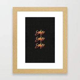Santo Santo Santo Framed Art Print