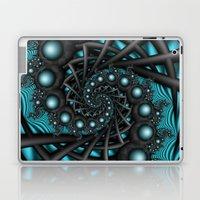 Cyber Wave Laptop & iPad Skin