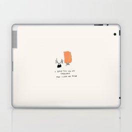 Dependency II: Every Thought A Thought For You, Where Did I Go? Laptop & iPad Skin