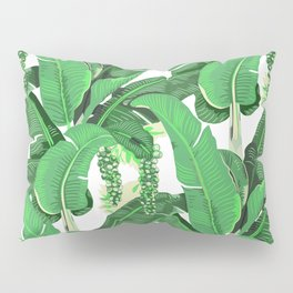 banana leaves brazilliance Pillow Sham