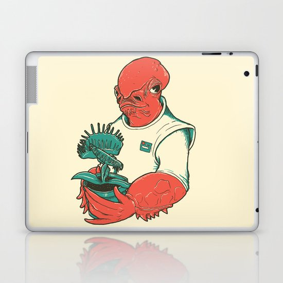 The Admiral's Trap Laptop & iPad Skin