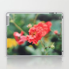 Red Flower Laptop & iPad Skin