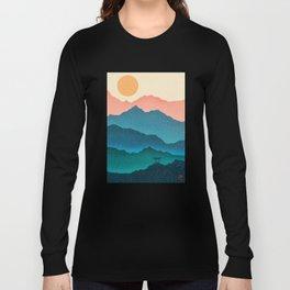 Meditating Samurai Long Sleeve T-shirt