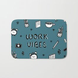 WORK VIBES Bath Mat