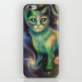 Cosmic Kitten iPhone Skin