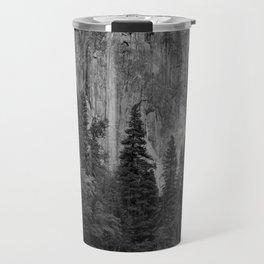 Yosemite National Park, El Capitan, Black and White Photography, Outdoors, Landscape, National Parks Travel Mug