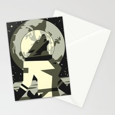 Werewolf in the Moon Stationery Cards