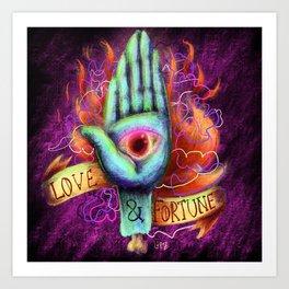 Love & Fortune Art Print