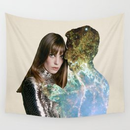jane and serge space Wall Tapestry