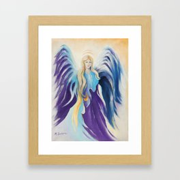 Angel for Creativity and Sensuality Framed Art Print
