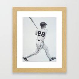 Buster Posey Framed Art Print