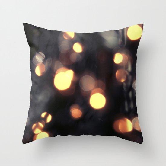 Light Fall Throw Pillow